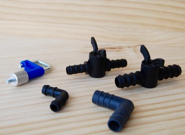 Válvulas y conectores