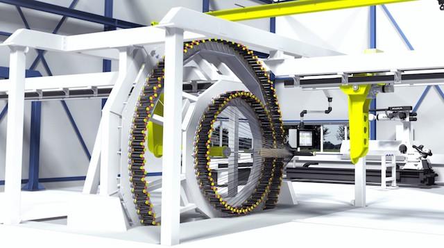 Máquinas de braiding